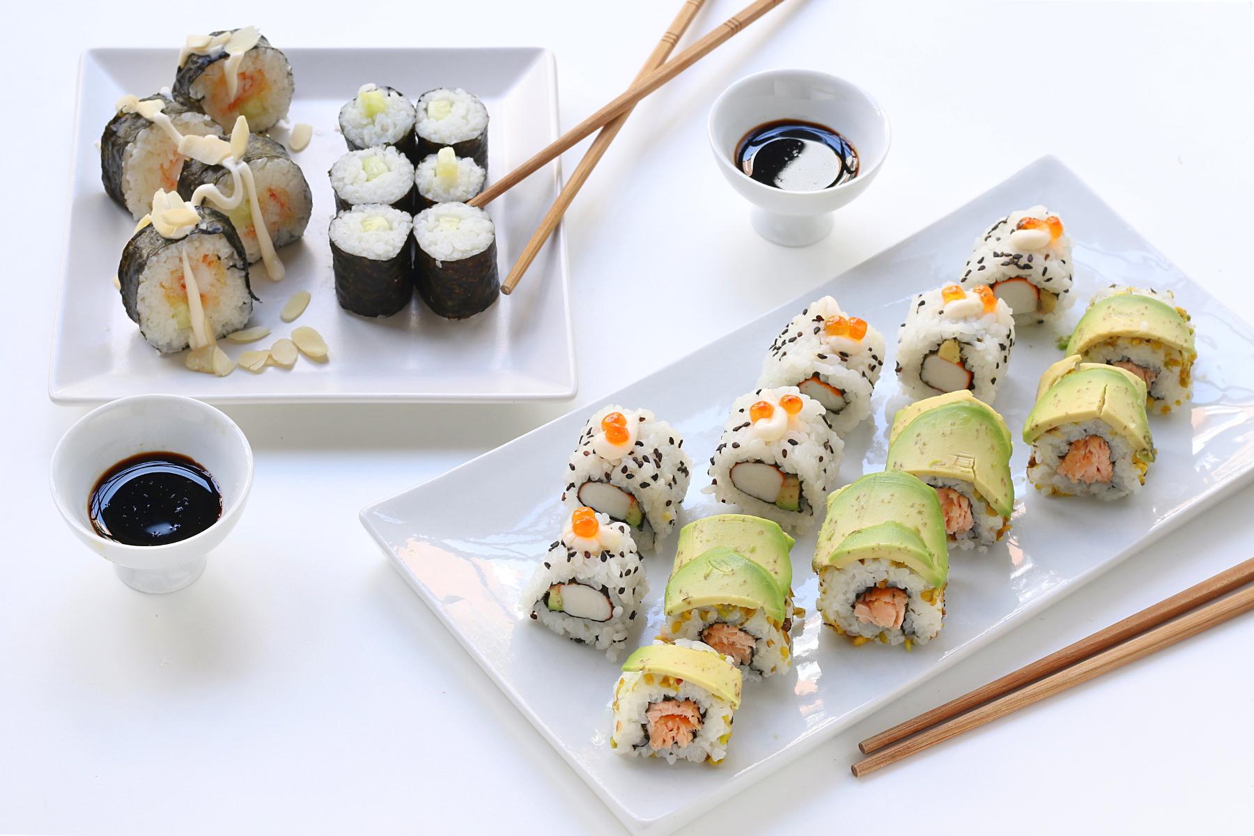 Cosa Cucinare Per Molte Persone sushi fatto in casa - ricetta del ristorante giapponese e