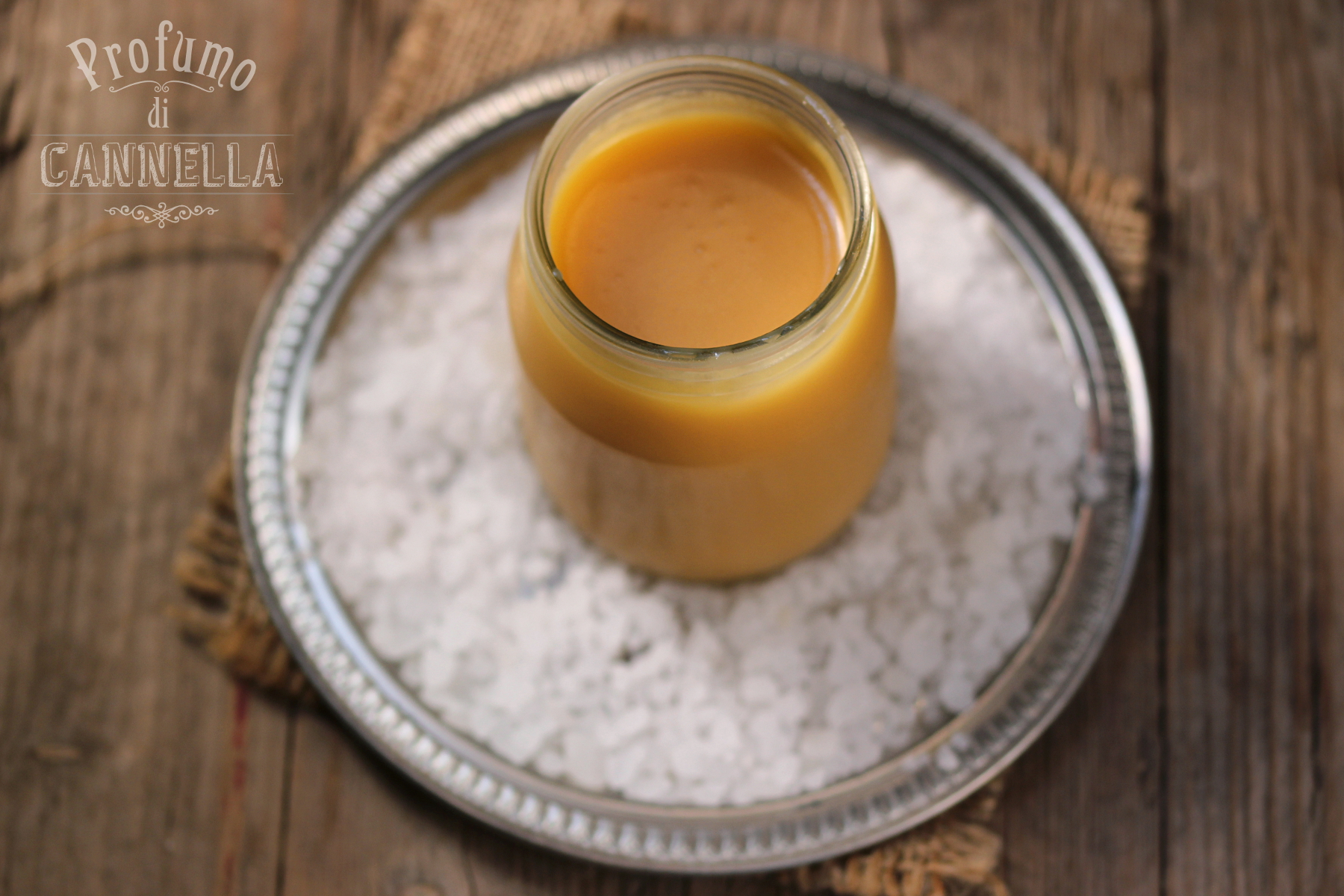 Caramello salato – in salsa o ganache