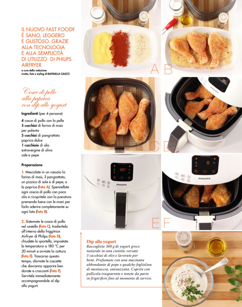 Placement Airfryer Philips