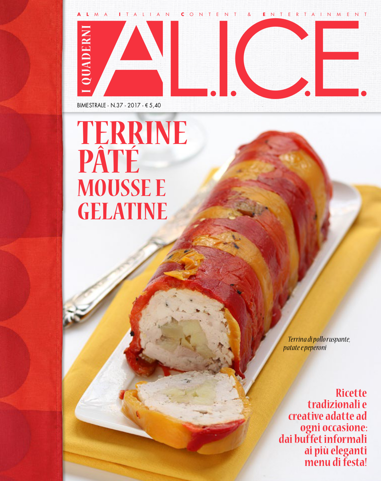Terrine, patè mousse e gelatine