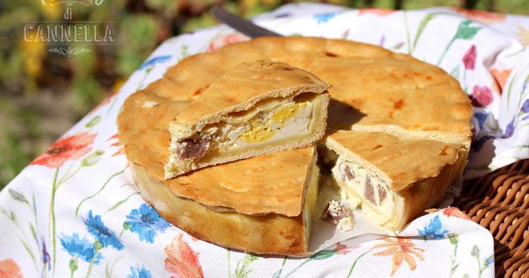 Torta salata alla ricotta – pizza rustica lucana