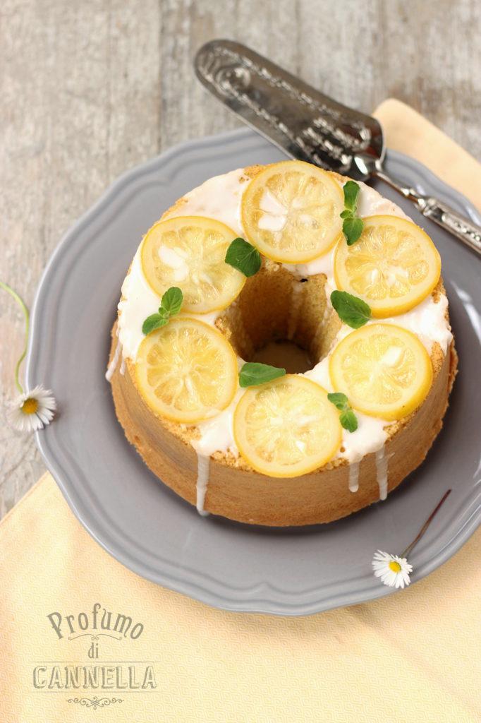 Ricetta della chjiffon cake alle mandorle