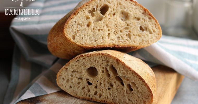 Pane fatto in casa – a lievitazione naturale