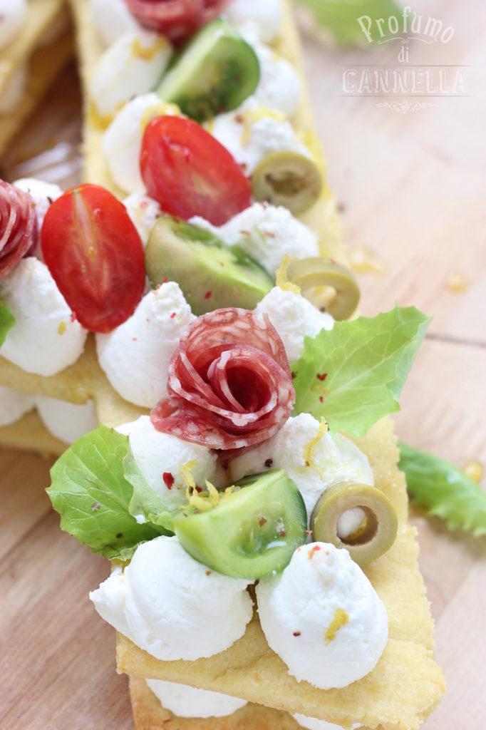 Farcia cream tart salata