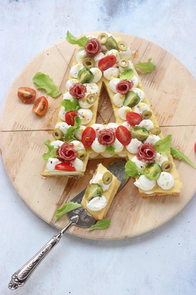 Cream tart salata ricetta