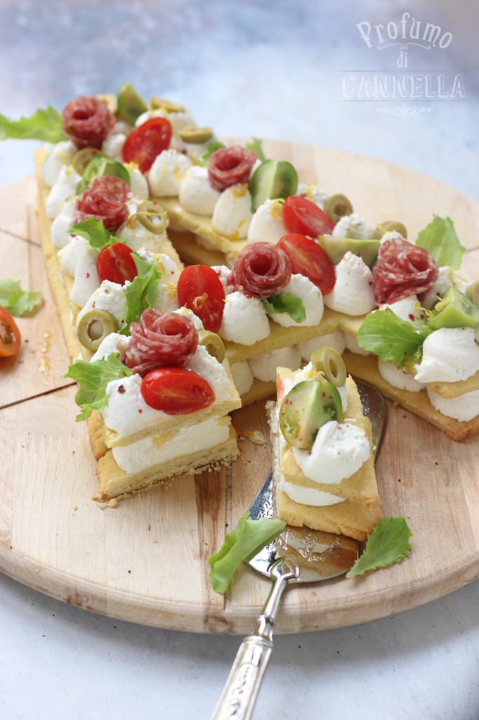 Salted cream tart recipe