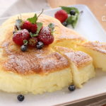 Japanese Cheesecake – una soffice nuvoletta