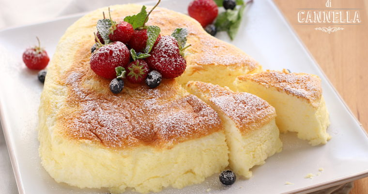 Japanese Cheesecake – una soffice nuvoletta