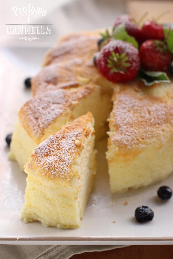 Ricetta Cotton cheesecake