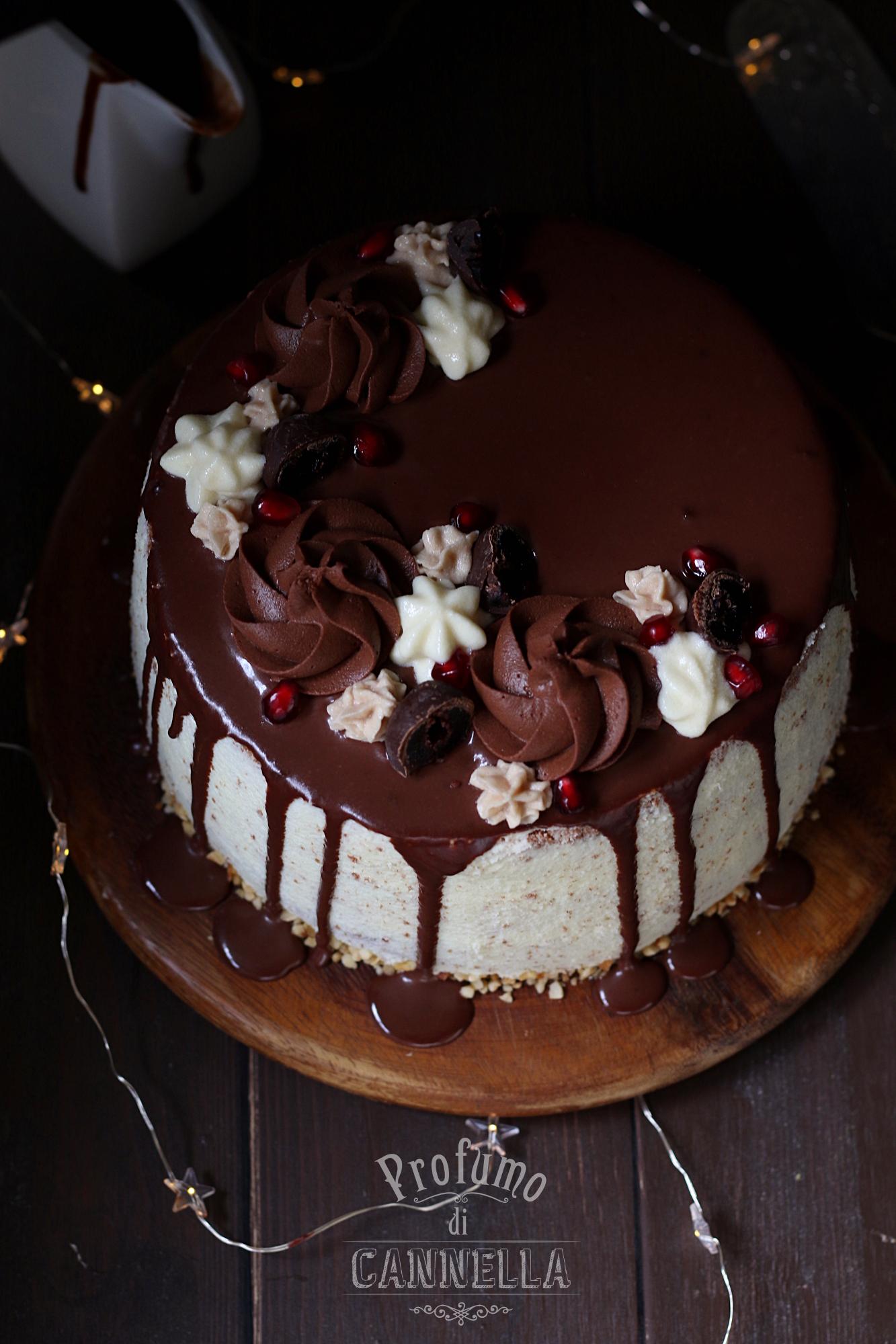 Chiffon cake di compleanno