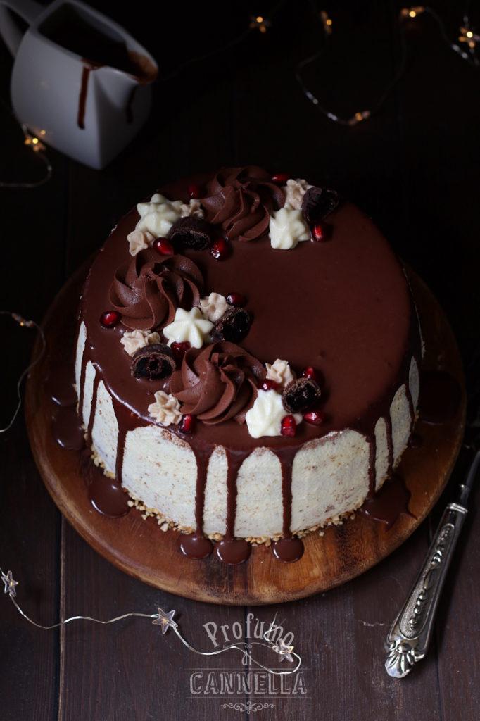 Chiffon Cake decorata