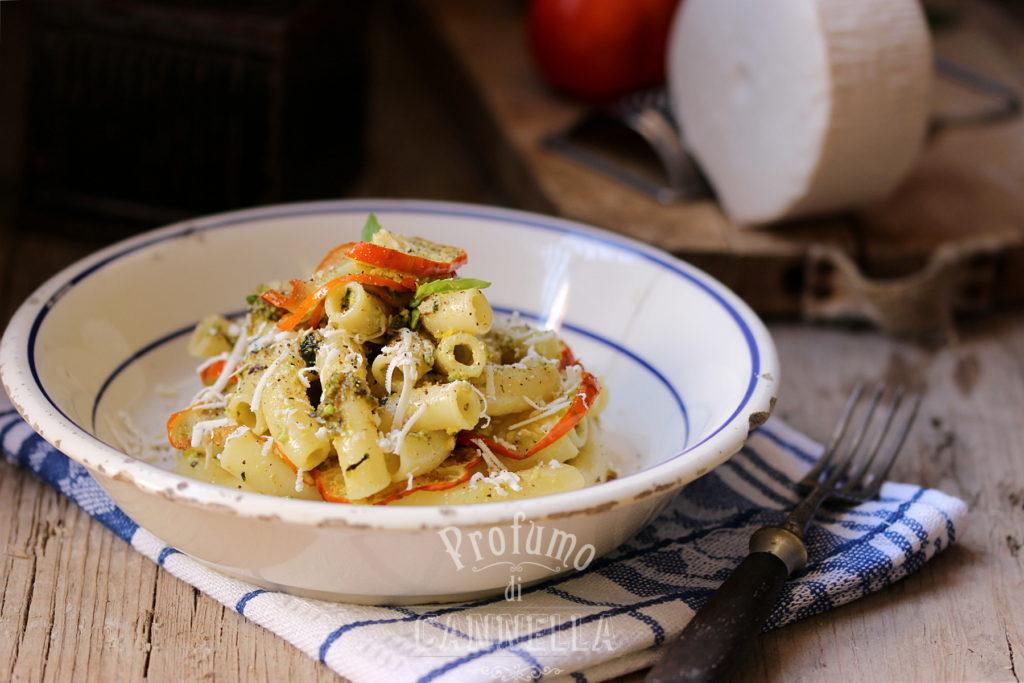Ricetta pasta al pesto di pistacchi