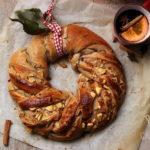 Ghirlanda di pane alla frutta e vin brulé – con step di preparazione