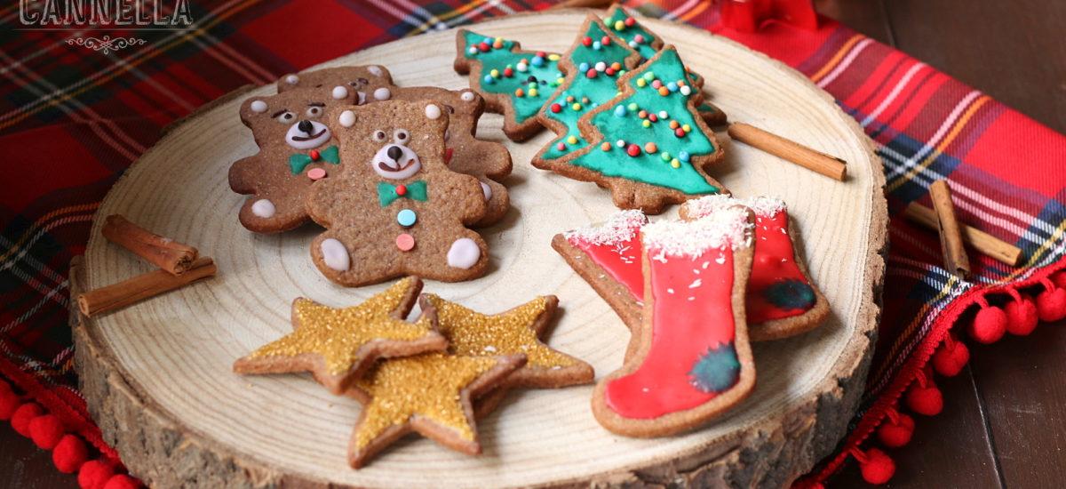Pasta frolla speziata al cacao –  per i biscotti decorati di Natale