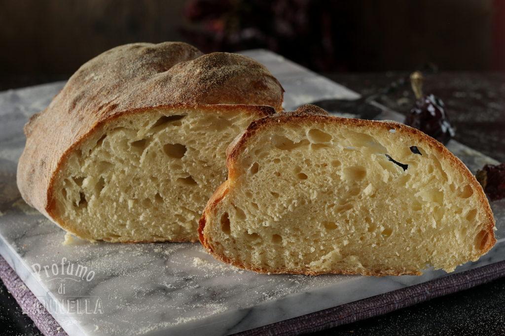 Pane di Matera con idrolisi