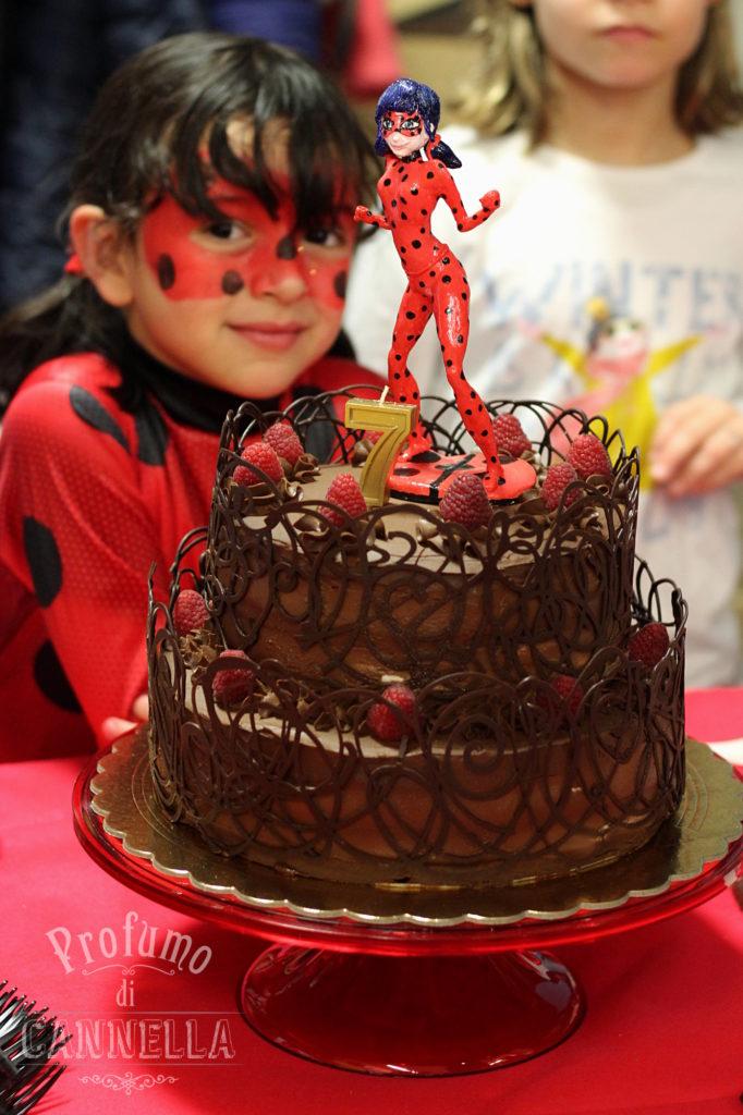 Torta ladybug miraculous