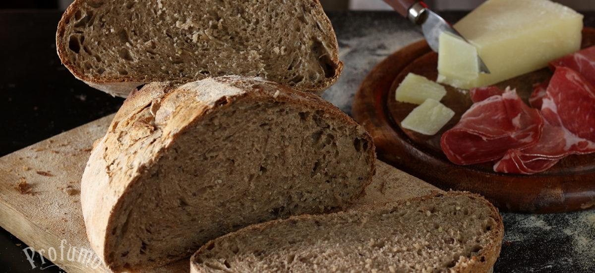 Pane ai cereali con pasta madre