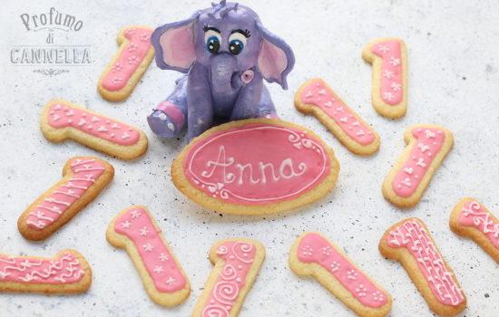 Biscotti alle mandorle e limone – per il primo compleanno di Anna