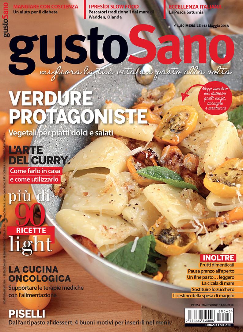 copertina gustoSano 2018