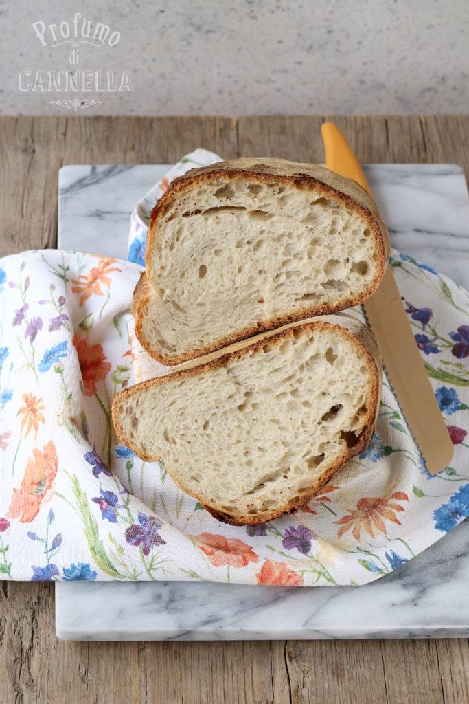 Pane di casa a lievitazione naturale