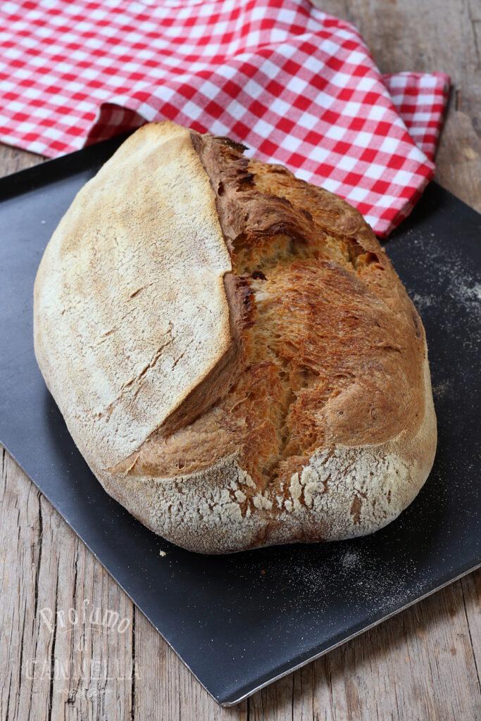 Pane misto con grano duro e farina 0