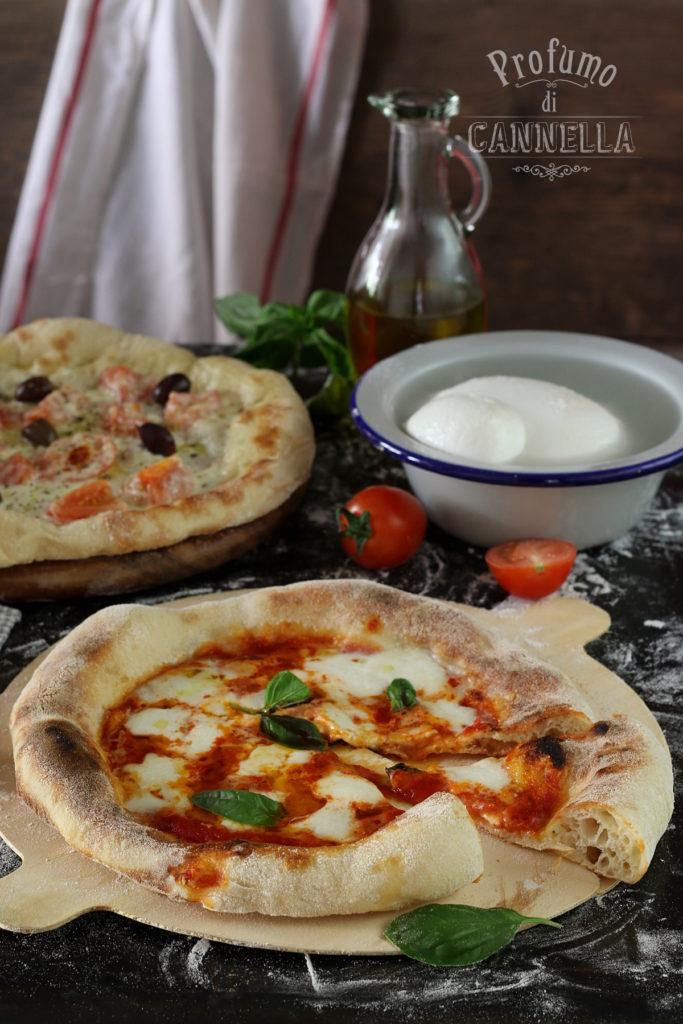 Pizza al piatto impasto napoletano
