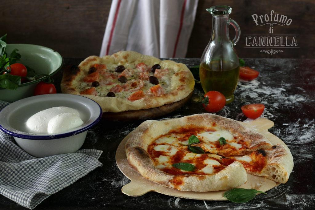Ricetta della pizza al piatto