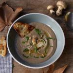 Vellutata di funghi – comfort food d'autunno