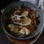 Scaloppine ai funghi – con petto di pollo