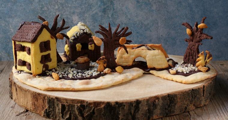 Biscotti alla zucca – e un piccolo villaggio di frolla