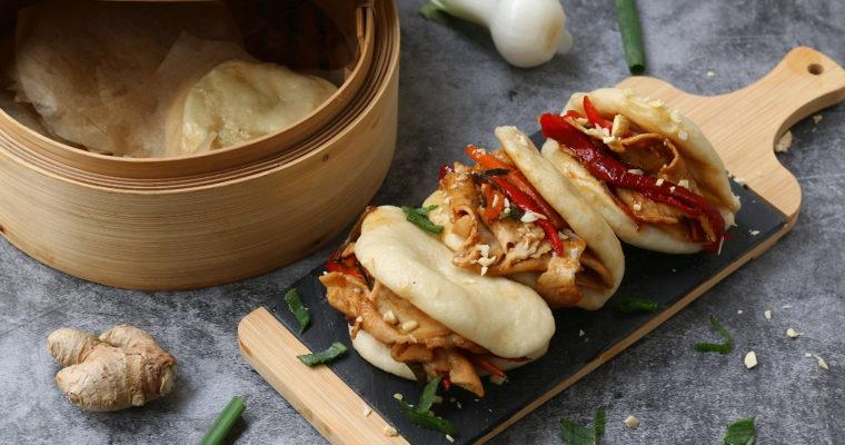 Gua bao con maiale in agrodolce – i panini al vapore