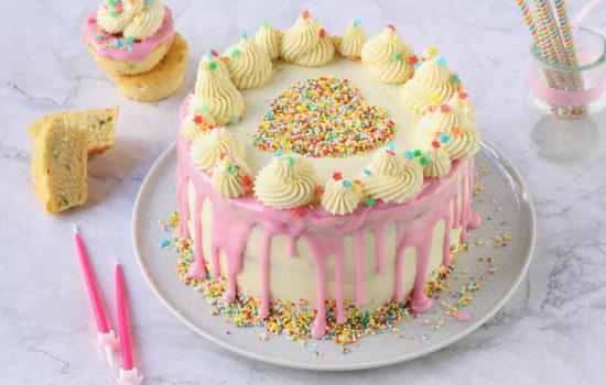 Funfetti cake – torta con confettini colorati