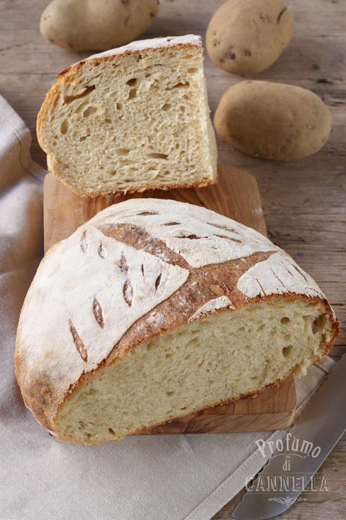 pane con patate lesse