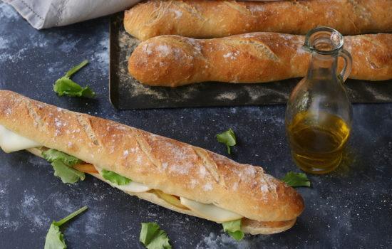 Baguette fatte in casa – perfette per i pic-nic