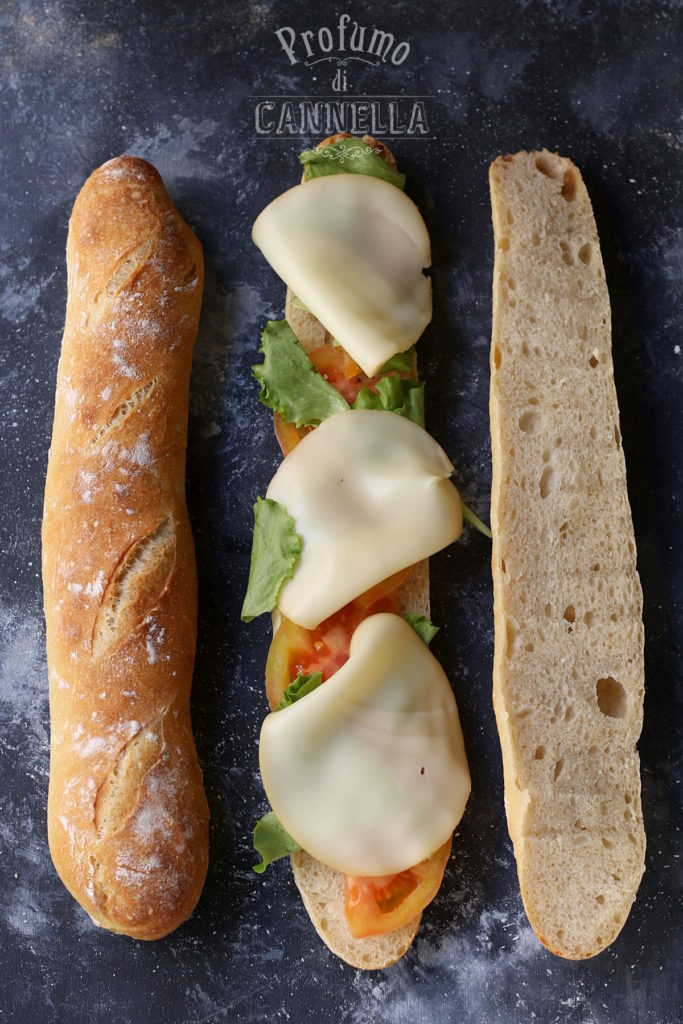 Baguette fatte in casa