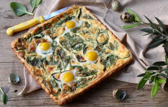 Quiche agli spinaci – facile, velocissima e buona
