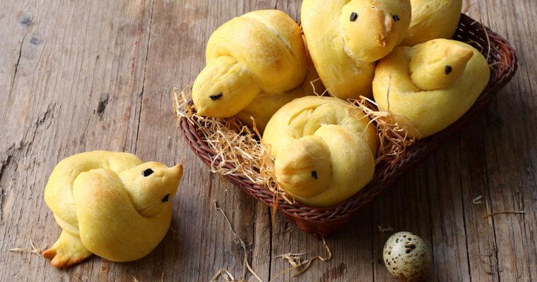 Pulcini di pane allo zafferano – soffici e profumati