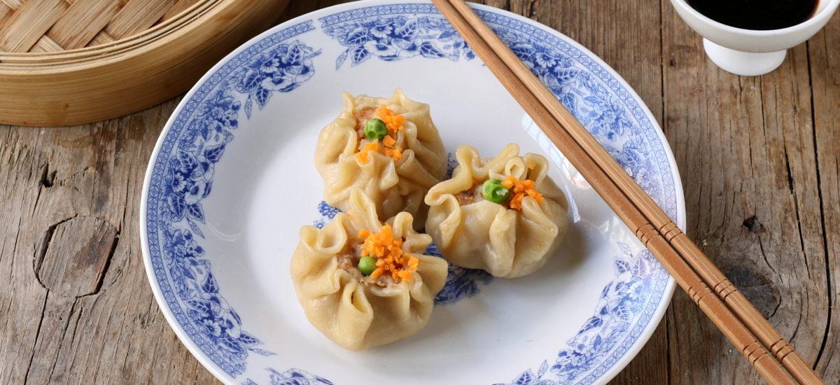 Ravioli di gamberi al vapore – Xiao mai o Shao mai