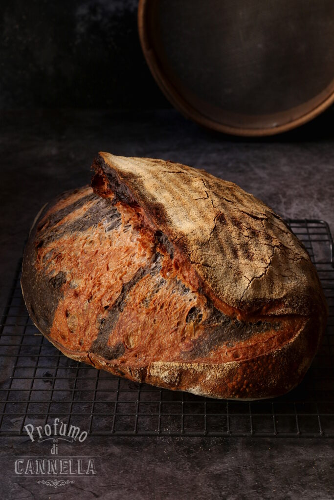 Pane a due colori
