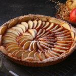 Crostata di mele – con pasta frolla alla zucca