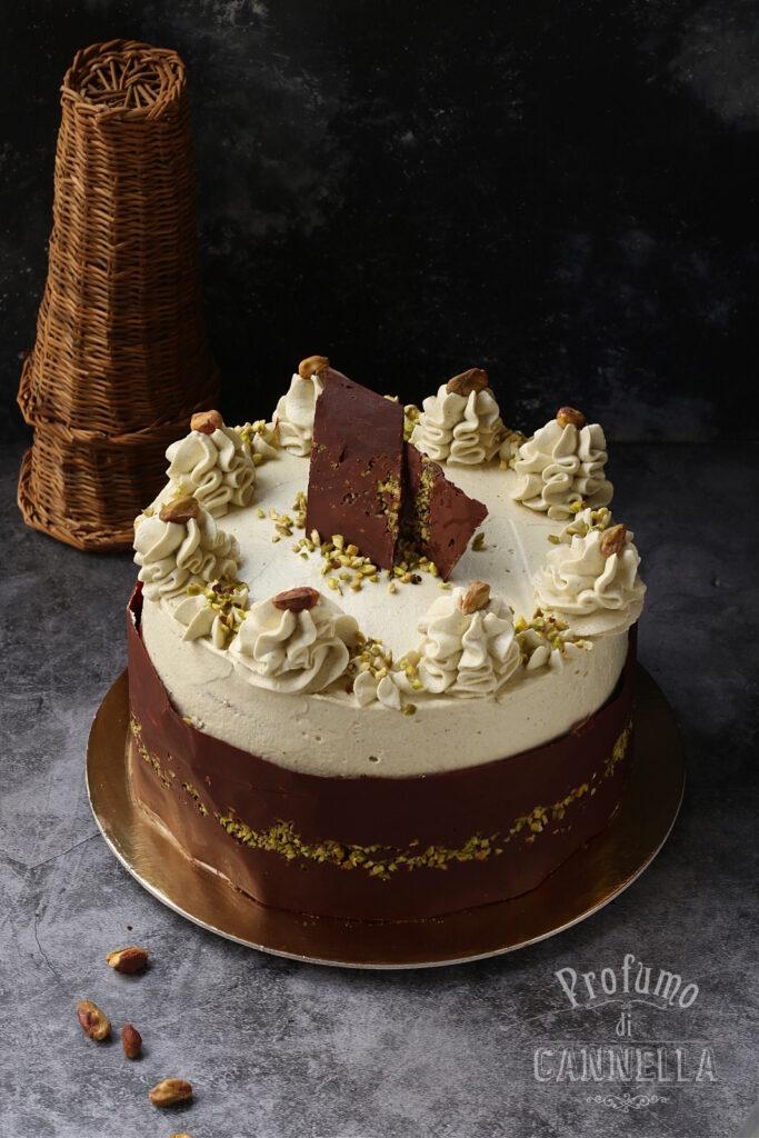 Torta Fedora con ricotta e cioccolato