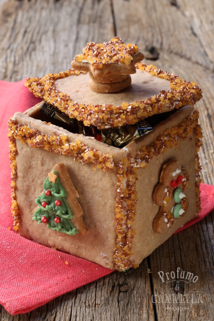scatoline regalo di biscotto