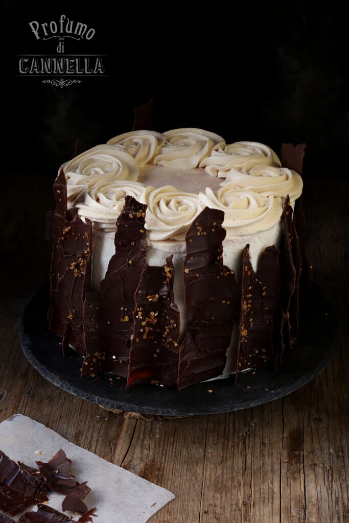 Torta tronco al cioccolato