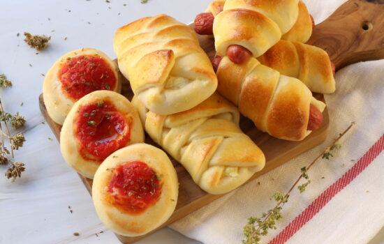 Impasto rosticceria – pizzette, pan wurstel e prodotti da buffet