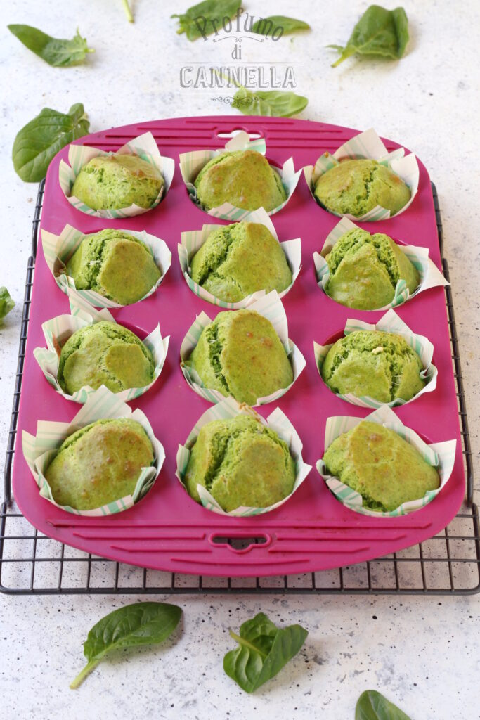 cottura dei muffin salati