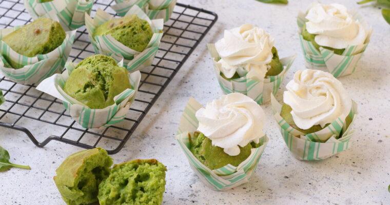 Muffin salati agli spinaci – velocissimi e golosi
