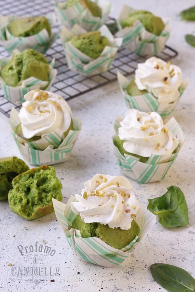 Muffin salati con frosting