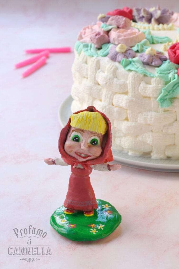 statuina di compleanno di Masha