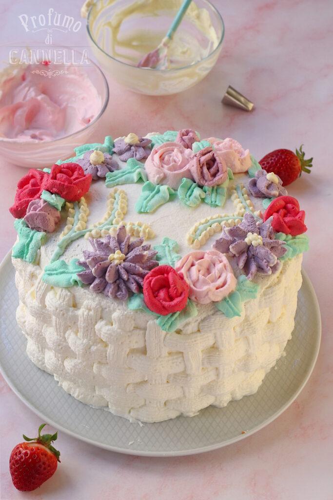 Flower cake di primavera
