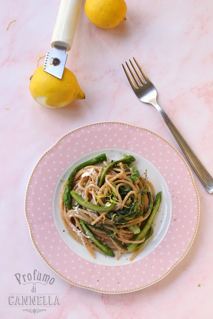 Spaghetti integrali primaverili